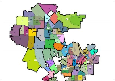 Districts Of Los Angeles City Images